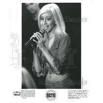 Press PhotoChristina Aguilera pop singer Genie Bottle - RRW48349