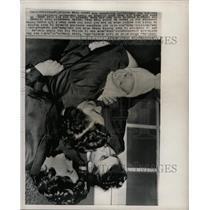 1963 Press Photo Erika/Hans Schmidt Reunion/Communism - RRX71271
