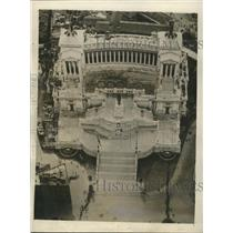 1929 Press Photo Unknown Soldiers King Victor Emmanuel - RRX88629