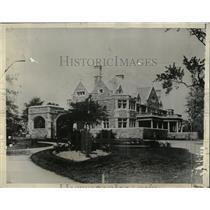 1929 Press Photo Philadelphia Oldest Hospital USA - RRX61759