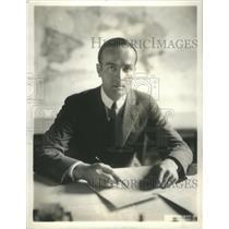 1920 Press Photo Warren Delano Robbins chief division Near Eastern Affairs