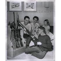 1962 Press Photo The Turner family. - RRX48895