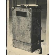1922 Press Photo The Sitging Valise - RRW51073