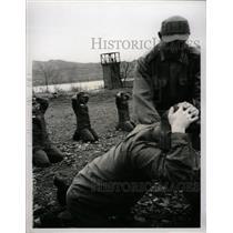 1965 Press Photo Communist Korean War Prison Camp - RRX74869