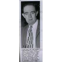 1959 Press Photo Lar Daly Federal Communication Radio - RRX42163