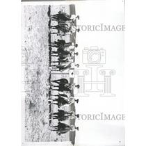 1960 Press Photo Colorado Riders Pony Express Re-run - RRX94101