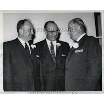1960 Press Photo Wilber Thos Elton Awrey Celebrate 50th