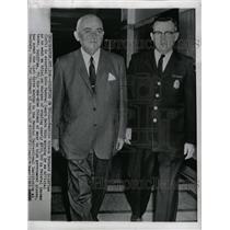 1960 Press Photo Bernard Goldfine Fedl Tax Evasion - RRW19547