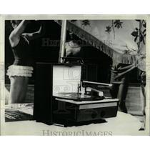 1965 Press Photo Portable photograph Philco Paly Cost - RRW58869