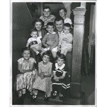 1954 Press Photo Meet the Murphys. Bob and Kay team. - RSC95673