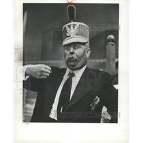 "1958 Press Photo Bob Keeshan ""Captain Kangroo"" - RRW45603"