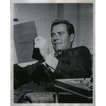 1959 Press Photo Philip Carey Actor Philip Marlowe - RRX57455