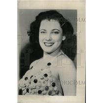 1949 Press Photo Susan Perry Vienna Candy Toxton film - RRW96691
