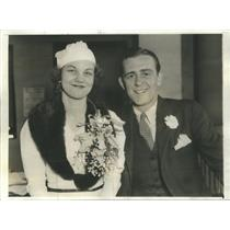 1933 Press Photo Anna Maria McKenney Broadway Actress - RSC86299