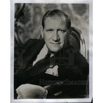 1953 Press Photo Gregory Ratoff Director Actor Producer - RRX37259