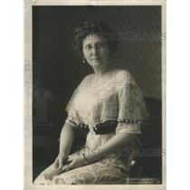 1913 Press Photo Mrs. Thomas R. Marshall