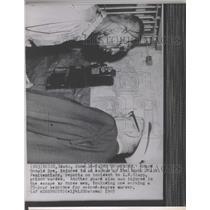 1965 Press Photo Guard Donald Dye escape Penitentiary - RRX90815