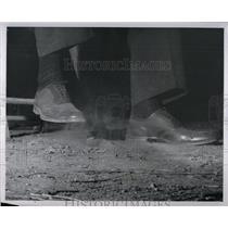1959 Press Photo Toe Tapping Jazz