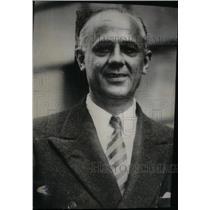 1934 Press Photo Clarence A. Dykstra Cincinnati City - RRX47825