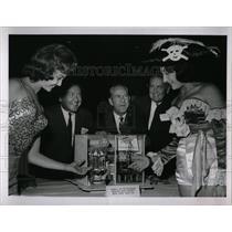 1963 Press Photo 1964-1965 World's Fair participants - RRW77299