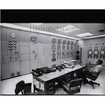 1971 Press Photo Yellowtail Dam & Power Plant Montana