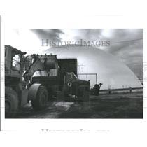 1990 Press Photo Salt Done At Macon's County Service Ya