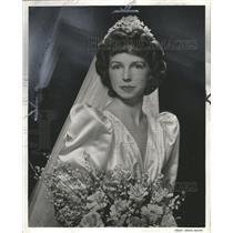 1940 Press Photo Mrs William wrights Hart Jr - RRW31967