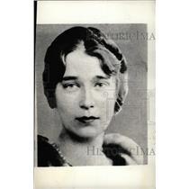 1934 Press Photo Princess Krya Of Russia - RRW78645