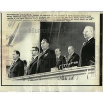1971 Press Photo Czech Communist Party/Gustav Husak