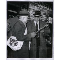 1960 Press Photo Herman Lieber & F.K. Francis - RRX59233