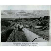 Press Photo Pipe Trailblazer Western Wyoming Granger - RRW58853