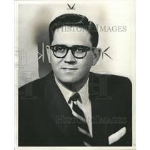 1958 Press Photo Radio Ben Hoberman - RRW36039