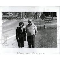 1993 Press Photo M-15 Ortonville & Goodrich Michigan - RRW83879