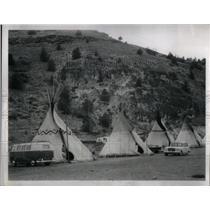 1965 Press Photo Kah-nee-ta Motel Warm Springs Indians - RRX13889