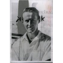 1958 Press Photo Thor Heyerdahl Norwegian Ethnographer - RRX44777