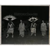 1967 Press Photo Apache Devil Dancers perform at Fair - RRX63691