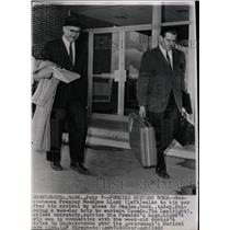 1962 Press Photo Premier Lloyd Tim Lee Doctor Strike - RRW18037