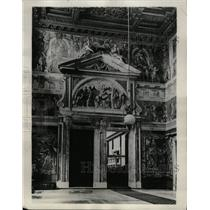 1929 Press Photo Paolina Chapel Royal Palace Rome - RRX75059