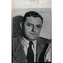 1956 Press Photo Franz Josef Strauss German Minister - RRW72483