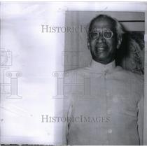 1962 Press Photo Sarvepalli Radhakrishnan President - RRX37609