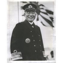 1945 Press Photo Japanese Admiral Kichisaburo Nomura - RSC89747