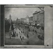 1917 Press Photo View of the Nevsky Prospect - RSC86667