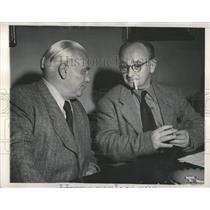 1953 Press Photo Gerhart Eisler East German Politician - RRX98057