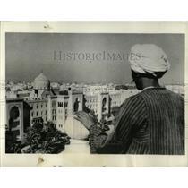 1934 Press Photo suburb Heliopolis Cairo Egypt Sinbad - RRX63207