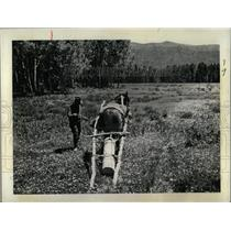 1968 Press Photo Robert Stovall chimney Rock rancher - RRX79433