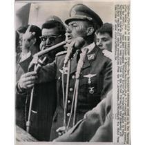 1964 Press Photo General Rene Barrientos Bolivia - RRX73211