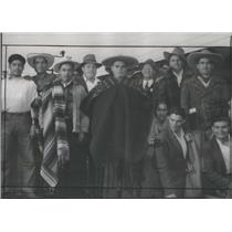 1944 Press Photo Jalisco & Michoacan Mexico City Farmers - RSC86783