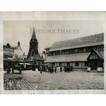 1932 Press Photo Honfleur Steeple France - RRX62393