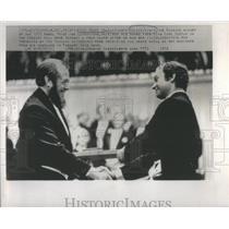 1974 Press Photo Alexander Solzhenityn Russian winner of the Nobel Prize for Lit
