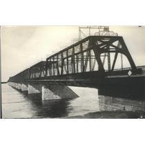 Press Photo Victoria Bridge St. Lawrence River Montreal City Canada - RSC86507